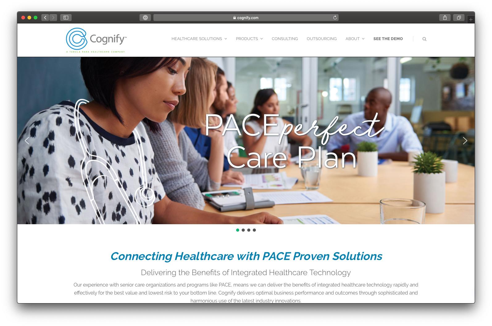 Cognify Website